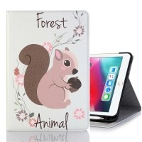 Squirrel Pattern Horizontal Flip Leather Case for iPad Pro…