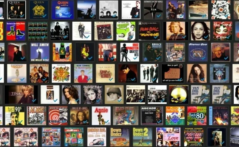 collectie CD's (500)