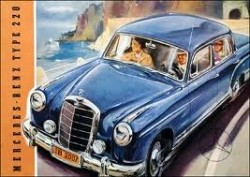 Mercedes 219-220 S/SE ponton onderdelen 1954-1960 zie adv.