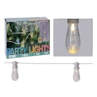 Feestverlichting - 20 lamps - helder - warm-wit  Alleen dez…