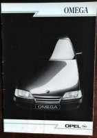 Folder/brochure - OPEL Omega - 1987