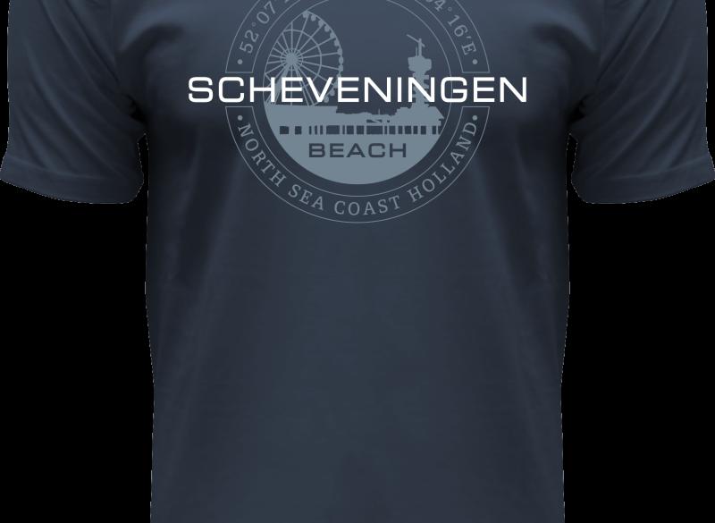 Fox Originals T-shirt Scheveningen - Den Haag Heren maat L