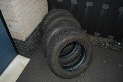Goodyear Ultragrip 195/65 R15 winterbanden (4x)