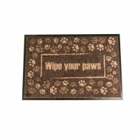 Duvo+ droogloopmat wipe your paws 60x40cm