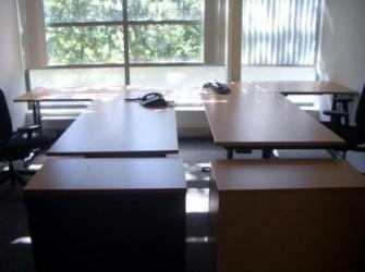 Bureau werkplek roldeurkast ladeblok vergadertafel