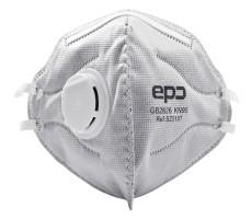 EPC  KN95  FFP2 Stof en damp mondkapje 1 stuk