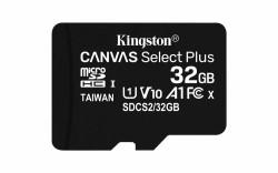 SDCARD Kingston Canvas Select MicroSD 32GB Class10 + adapte…