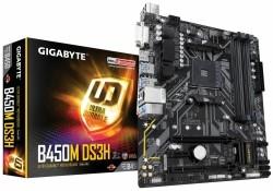 MB Gigabyte B450M DS3H AM4 Micro ATX AMD B450