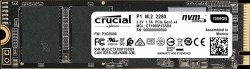 SSD Crucial P1 1TB 2000MB/s Read 1700MB/s NVME