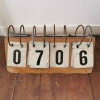 Houten scorebord
