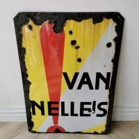 Emaille van Nelle bord