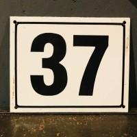 Nummerbord 37