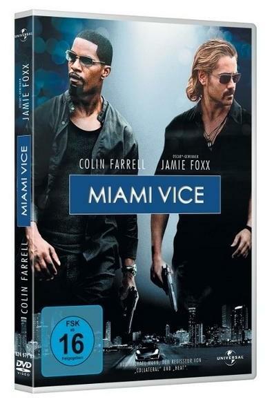 Miami Vice - Jamie Foxx & Colin Farrell DVD