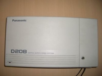 GE400 Panasonic KX-TD208 KX TD 208 telefooncentr