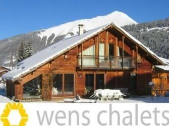 Luxe wintersport chalets met catering