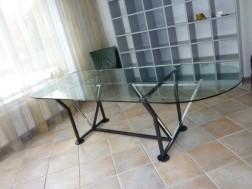 eetkamer tafel glas