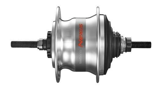 Nexus Naaf Achter Rollerbrake 7-Speed 36 Gaats