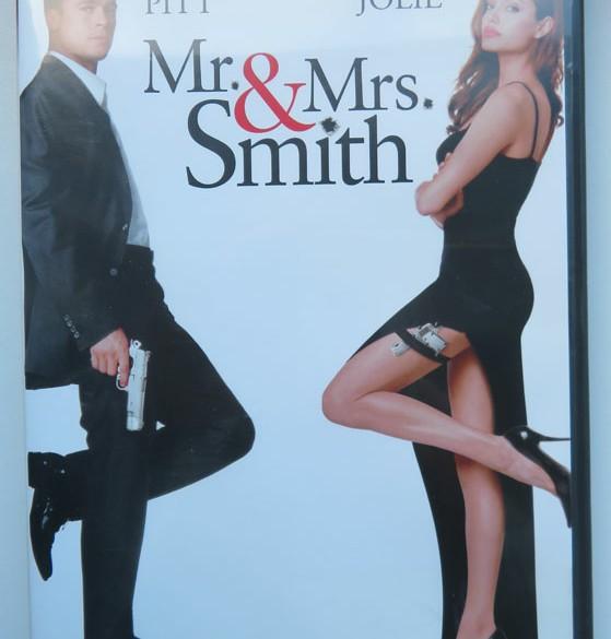 Mr & Mrs Smith dvd