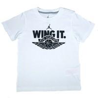Air Jordan Wing It T-shirt Kids WitKledingmaat : 116-122