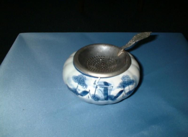Delfts blaauw theezeefje