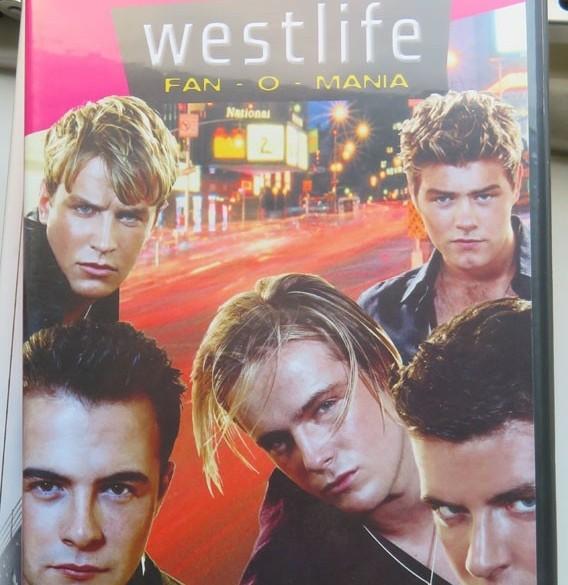 Westlife fan o mania cdrom