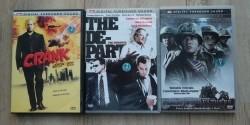 3 actiefilms op DVD: Departed, Crank en Flags Of Our Father…