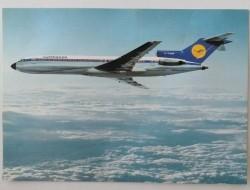 Ansichtkaart - Lufthansa B 727