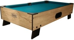 TopTable Pooltafel 8-ball topper Wood 3ft