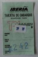 Boarding Pass - 1976