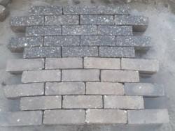 20236 400m2 antraciet bruin betonklinkers dikformaat straat…