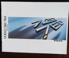 Folder/brochure - VOLVO 740/760 Estates