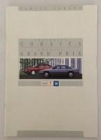 Folder - Chevrolet Corsica 1993