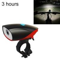 USB Charging Bike LED Riding Light ,Charging 3 Hours(Red)