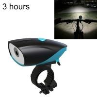 USB Charging Bike LED Riding Light ,Charging 3 Hours(Blue)