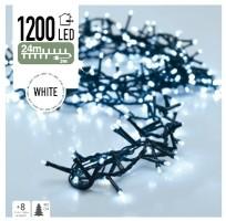 Micro Cluster 1200 LED's 24 meter wit  Alleen deze week 10%…