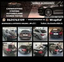 AUTO RAMEN BLINDEREN/AUTORUITEN TINTEN WrapRaF