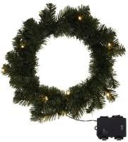 Kerstkrans 35cm met verlichting en timerfunctie  Alleen dez…