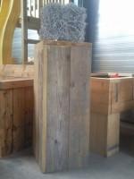 Steigerhouten pilaarwooddesign4u