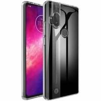 Motorola One Hyper Flexibel Hoesje Transparant