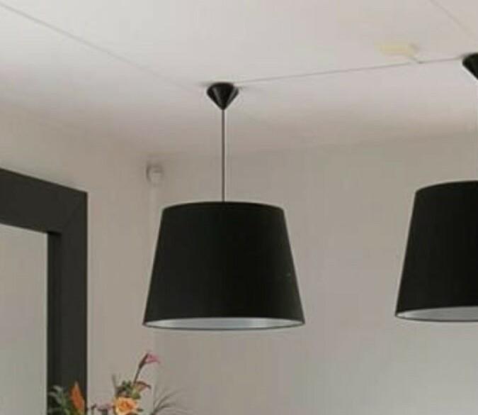 Grote hanglampen  stof