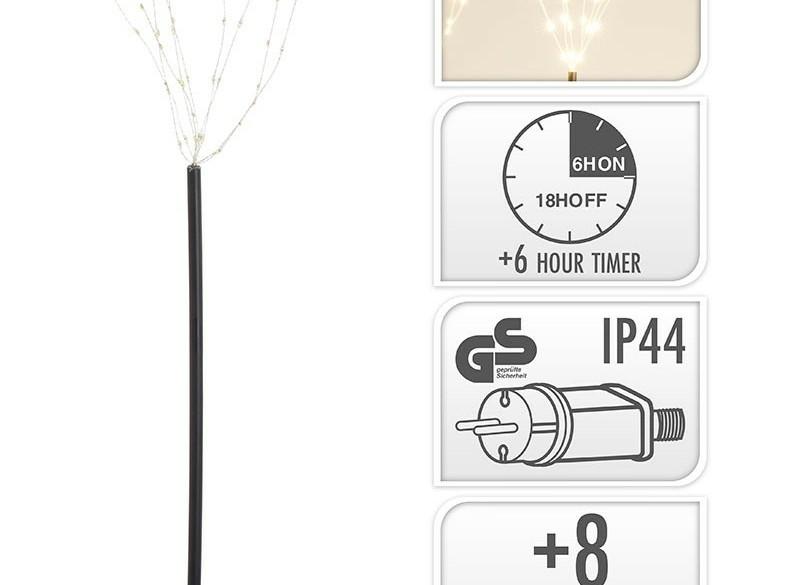 Tuinsteker - 5 stuks - 225 micro LED  Alleen deze week 10%…