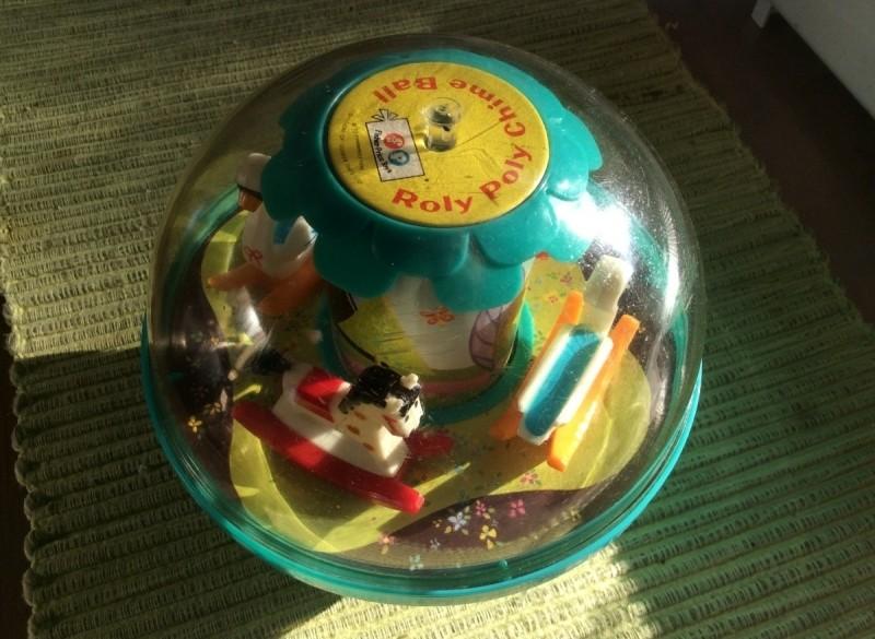 Fisher Price loopkar en bal