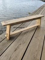 Oud houten bankjewooddesign4u