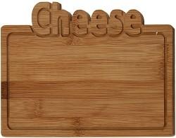 Bamboe snijplank -Cheese - 25x17cm  Alleen deze week 10% ex…