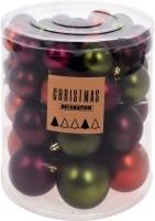 Kerstballenset - 44 stuks plastic - sfeer mix  Alleen deze…