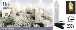 Kaarsverlichting 16 LED - warm wit  Alleen deze week 10% ex…