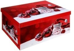 Opbergdoos kerst rood  Alleen deze week 10% extra korting