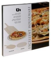 Pizza-baksteen met pizza-schep  Alleen deze week 10% extra…