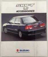 Folder - SUZUKI Swift Accessoires - 1990