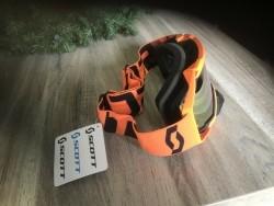 Scott Motocross bril - Oranje